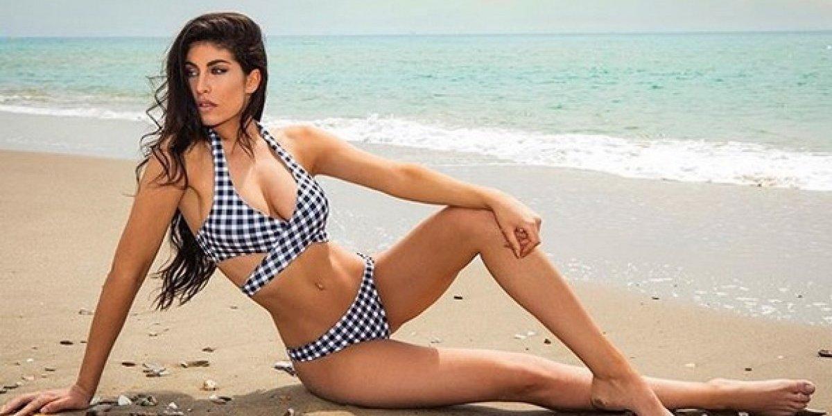 Yaiza Moreno, la bella novia de Mariano Díaz