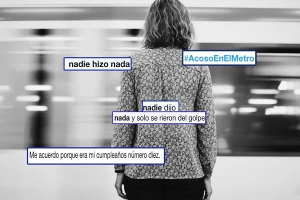acoso en metro