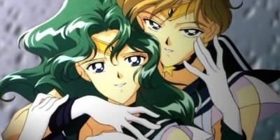 Haruka Tenou y Michiru Kaioh de Sailor Moon