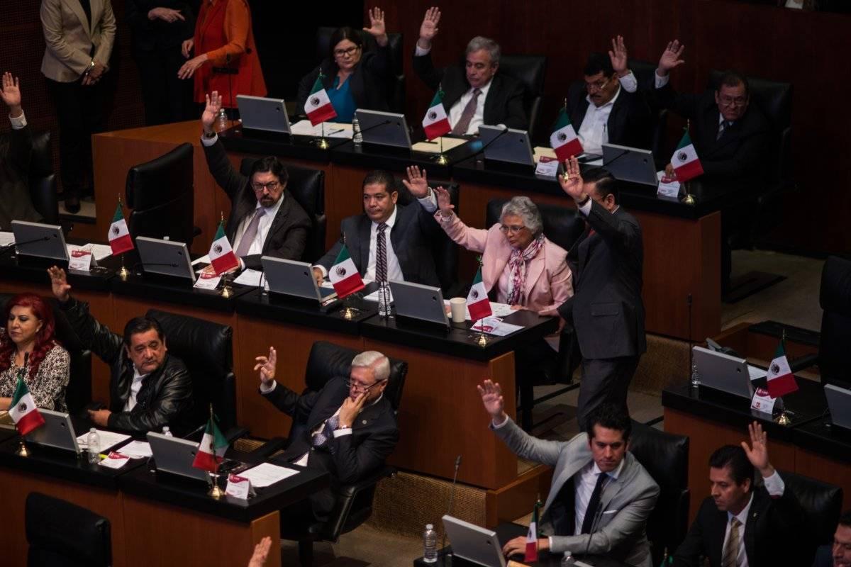 Muchos senadores no se conocen entre ellos y en la sesión de hoy fue muy notorio. Foto: Cuartoscuro.