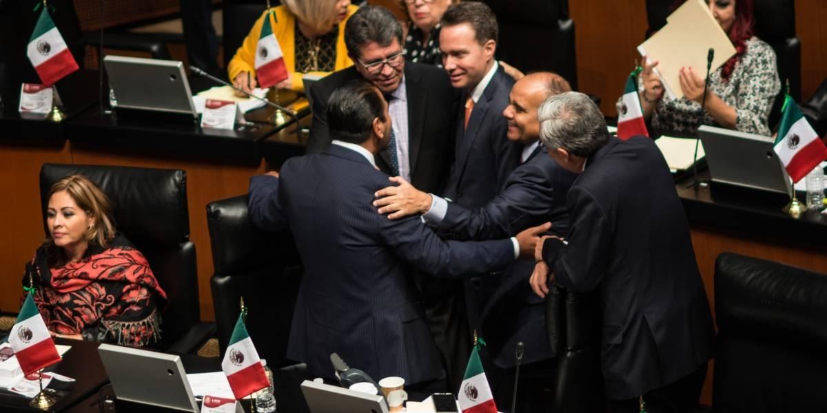 Senado reconsidera y otorga licencia a Manuel Velasco