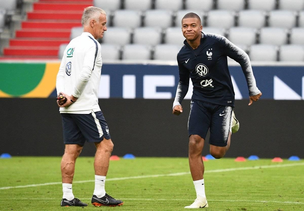 Mbappé se encuentra concentrado con la selección francesa.