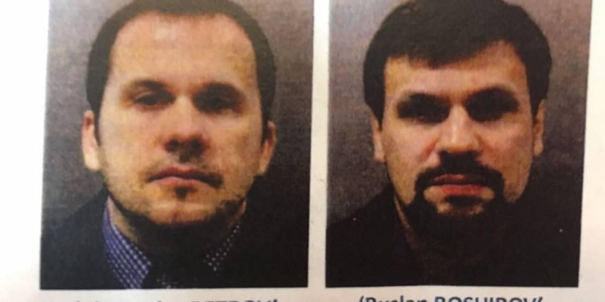 Polícia britânica divulga nome desuspeitos de envenenar ex-espião russo e filha