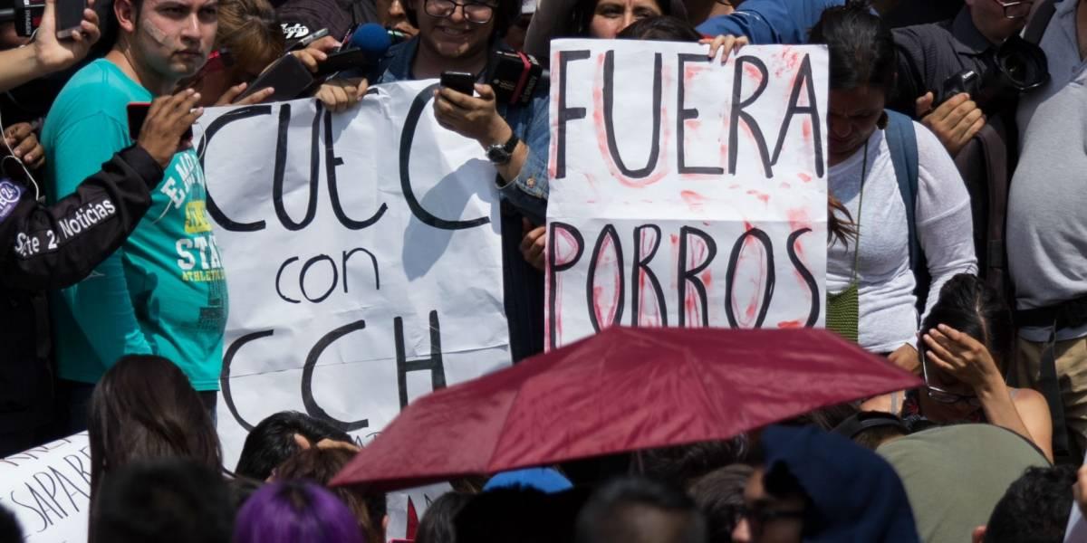 Principales exigencias de los estudiantes de la UNAM