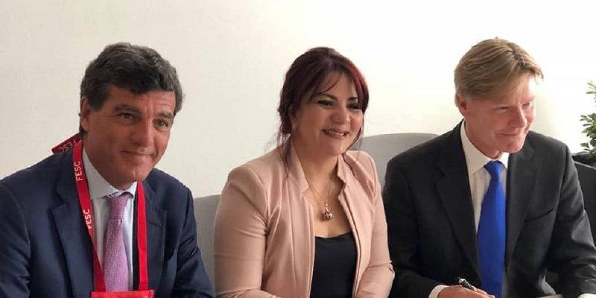 Sociedad Dominicana de Cardiología firma acuerdo con entidad europea a fin de elevar la educación continuada del país