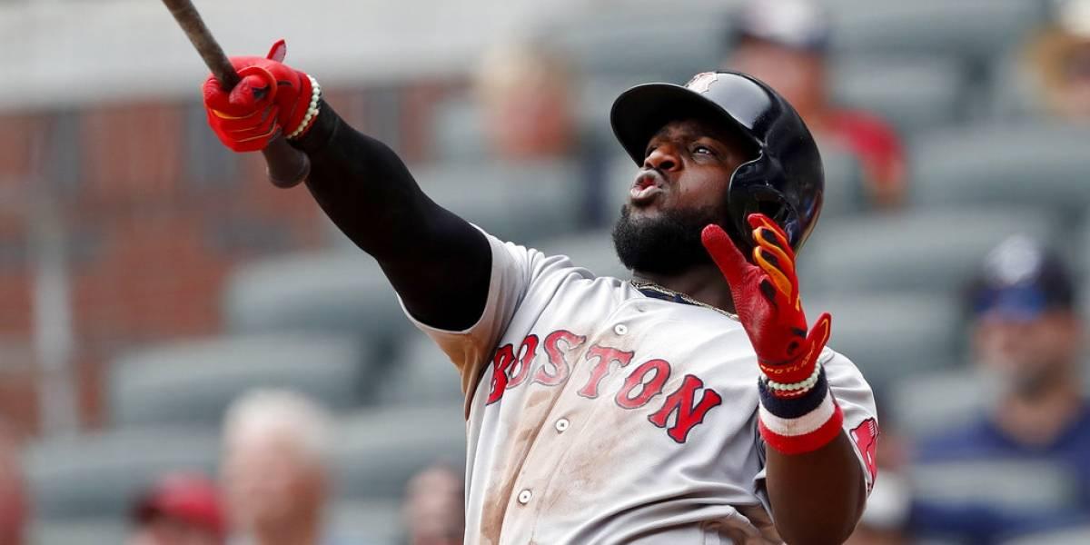 Phillips la saca del parque para darle la victoria a Boston sobre Atlanta