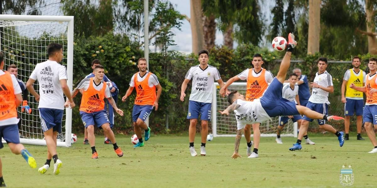 Los goles de la Selección Argentina frente a Guatemala