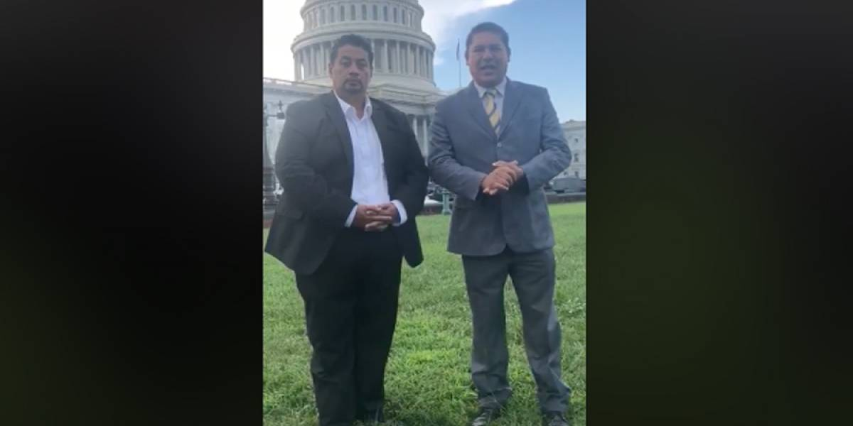VIDEO. Líder migrante en Estados Unidos llama a manifestar contra Jimmy Morales