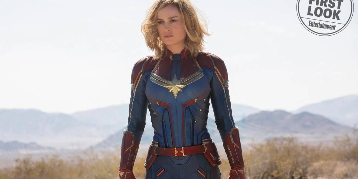 Vean las primeras imágenes oficiales de Brie Larson como la Capitana Marvel