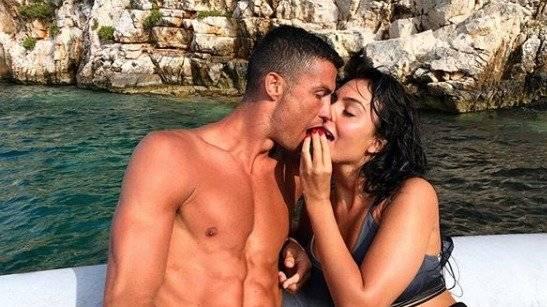 Ronaldo y Georgina de vacaciones Instagram