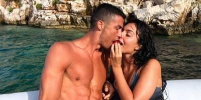 Ronaldo y Georgina de vacaciones