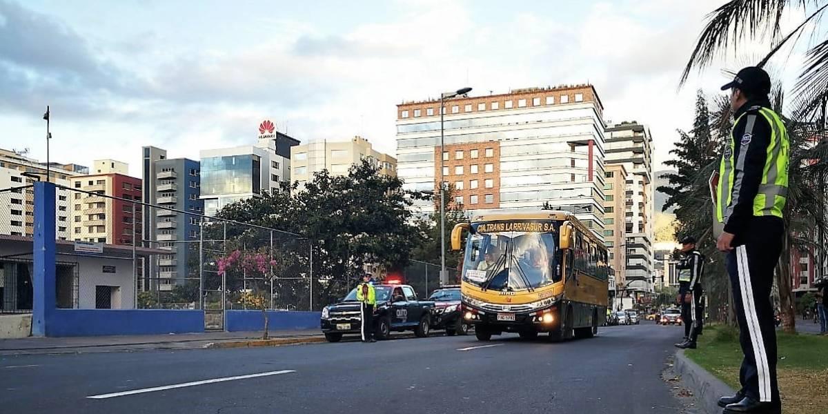 Quito: Se prevé incremento del 30% en tiempos de viaje por inicio de clases