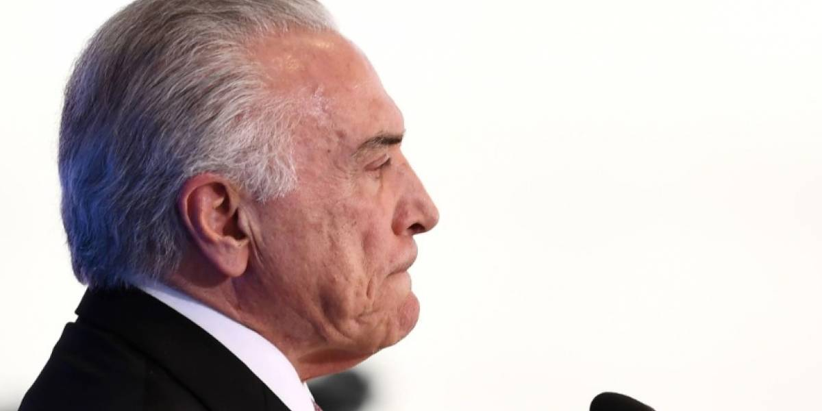 Policía Federal de Brasil solicita imputar al presidente Michel Temer