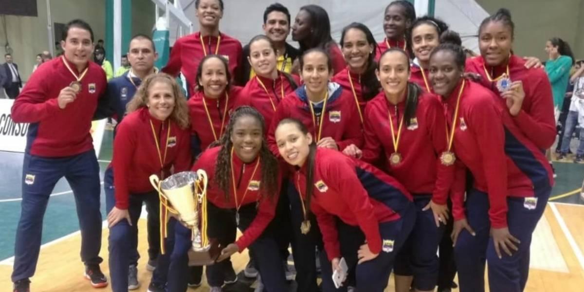 ¡Selección Colombia femenina de baloncesto hace historia en el Sudamericano!