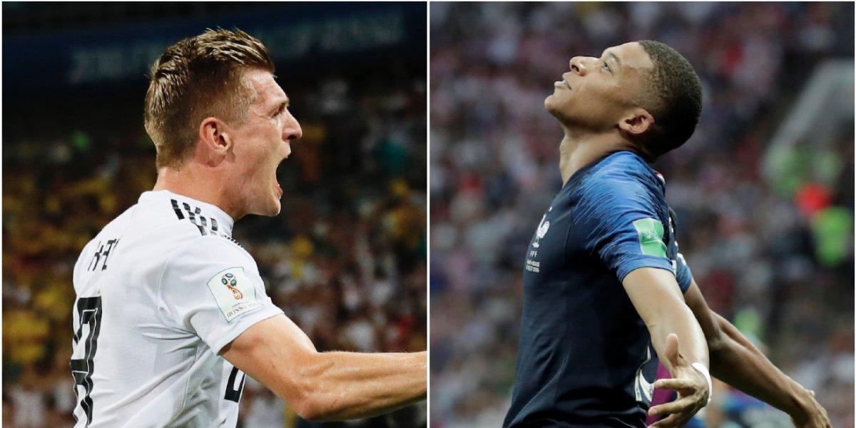 Alemania y Francia abren la Nations League, la Champions de selecciones