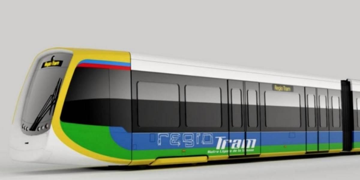 El tren ligero que conectará a la capital con varios municipios