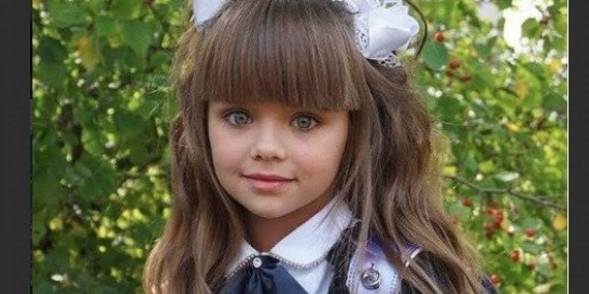 FOTOS: El primer día de escuela de 'La niña más guapa del mundo'