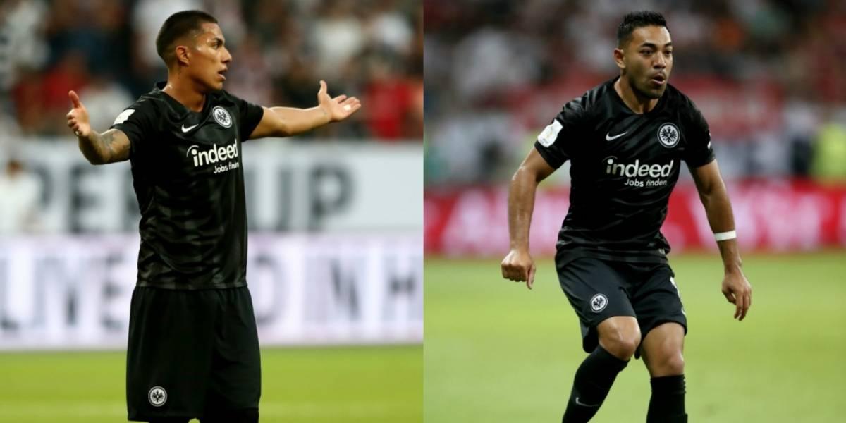 Eintracht borra a Salcedo y Fabián para la Europa League