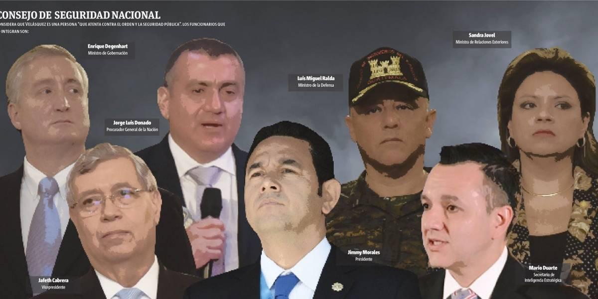 Piden otro jefe en CICIG y prohíben ingreso a Velásquez