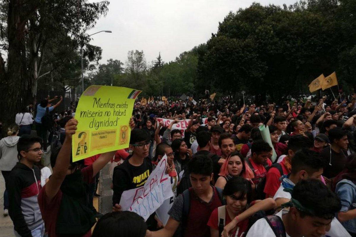 La Rectoría de la UNAM aseguró que las demandas del CCH Azcapotzalco serán atendidas Foto: Nicolás Corte