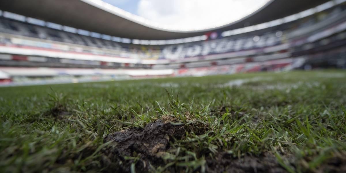 Mal estado de la cancha del Azteca obligará a cambiar un partido