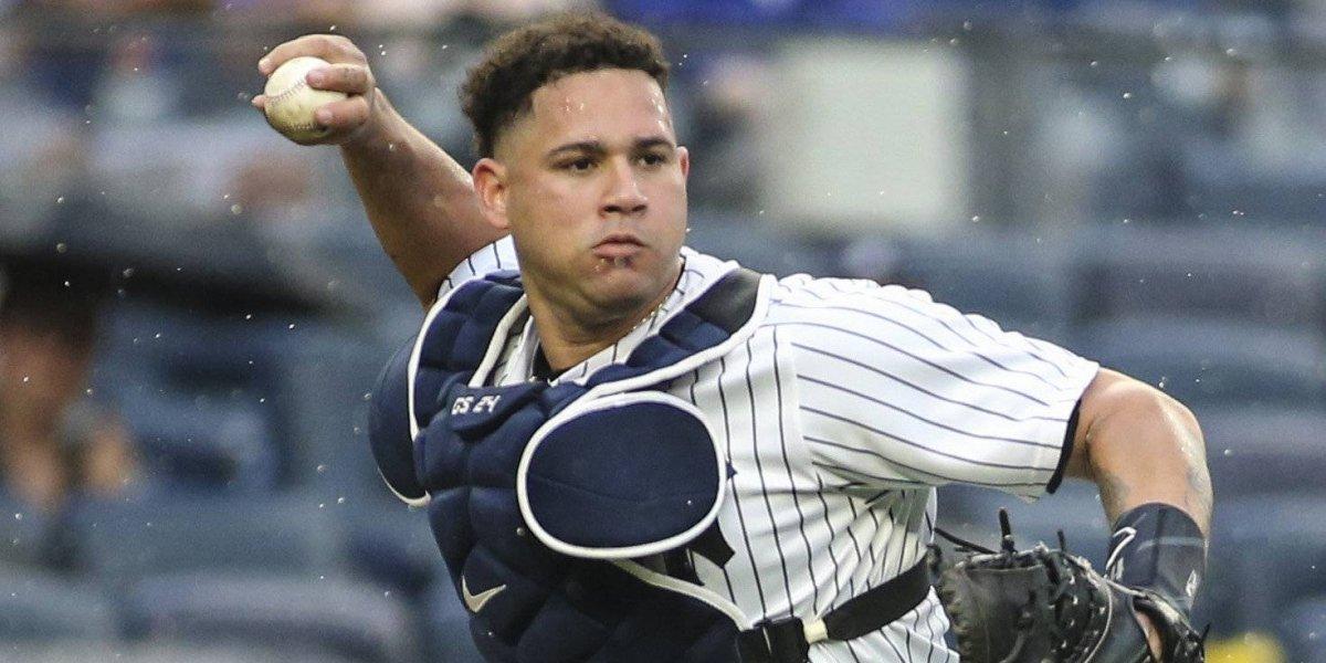 Gary Sánchez, ¿Una debilidad para Yankees en el juego de Comodines?