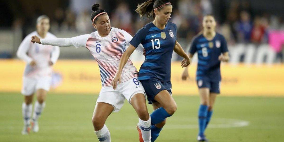 La Roja femenina volvió a caer por goleada ante Estados Unidos
