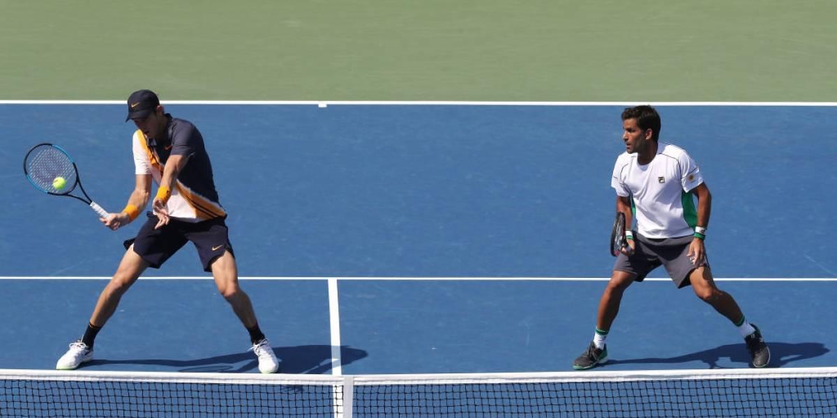 """La autocrítica de Nicolás Jarry tras caer en dobles del US Open: """"Entré muy nervioso"""""""