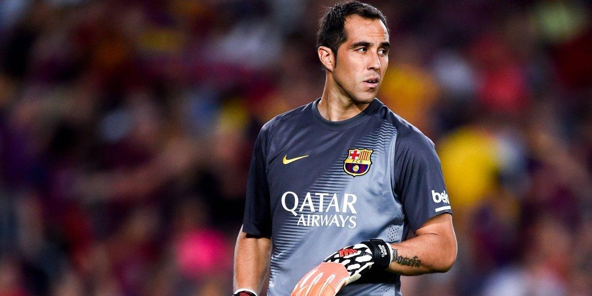 Barcelona por fin se acordó del lesionado Claudio Bravo