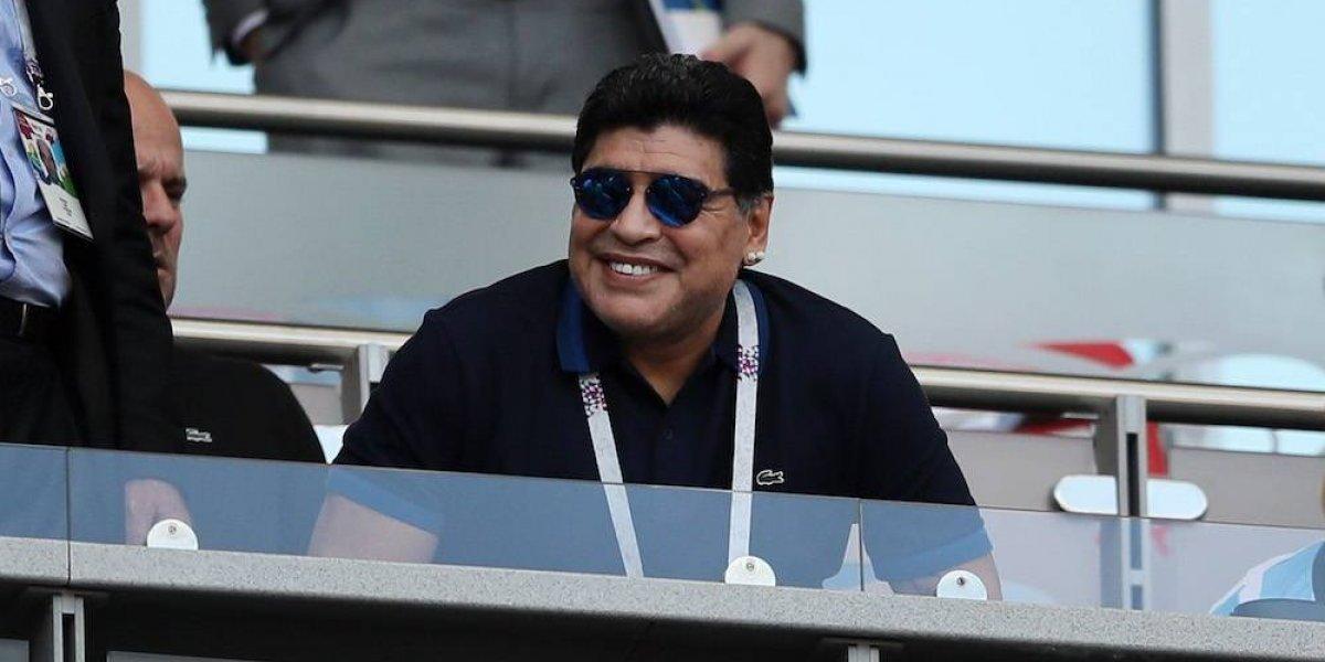 Diego Maradona volvería a dirigir y lo haría en México