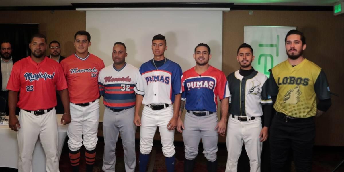 Guatemala tendrá su primera Liga Profesional de Béisbol