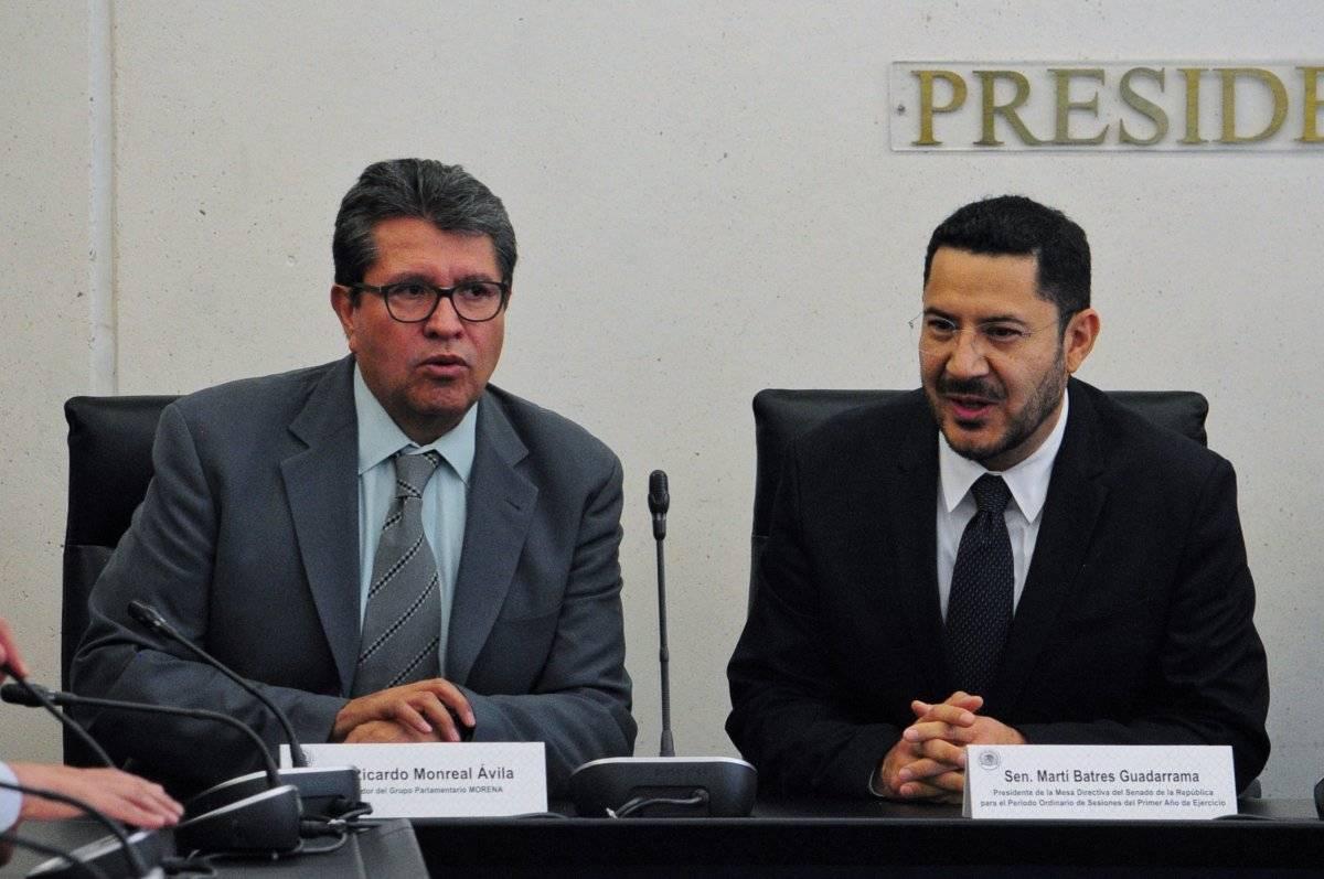 Ricardo Monreal aseguró que no recibió línea de nadie. Foto: Cuartoscuro.