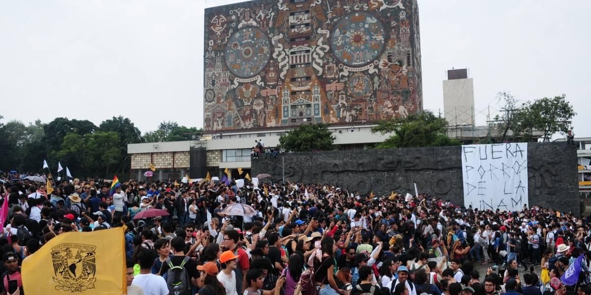 ¡Alto a las provocaciones!, exigen directores de la UNAM