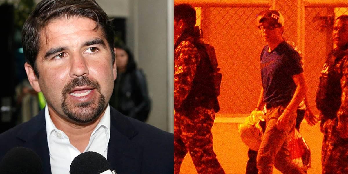 Dalo Bucaram se pronuncia sobre el caso de Iván Espinel