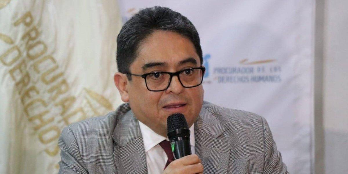 Tras resolución de CC que permite retorno de Velásquez a Guatemala, PDH le da la bienvenida