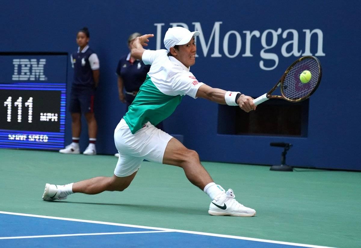 Kei Nishikori buscará llegar hasta la final