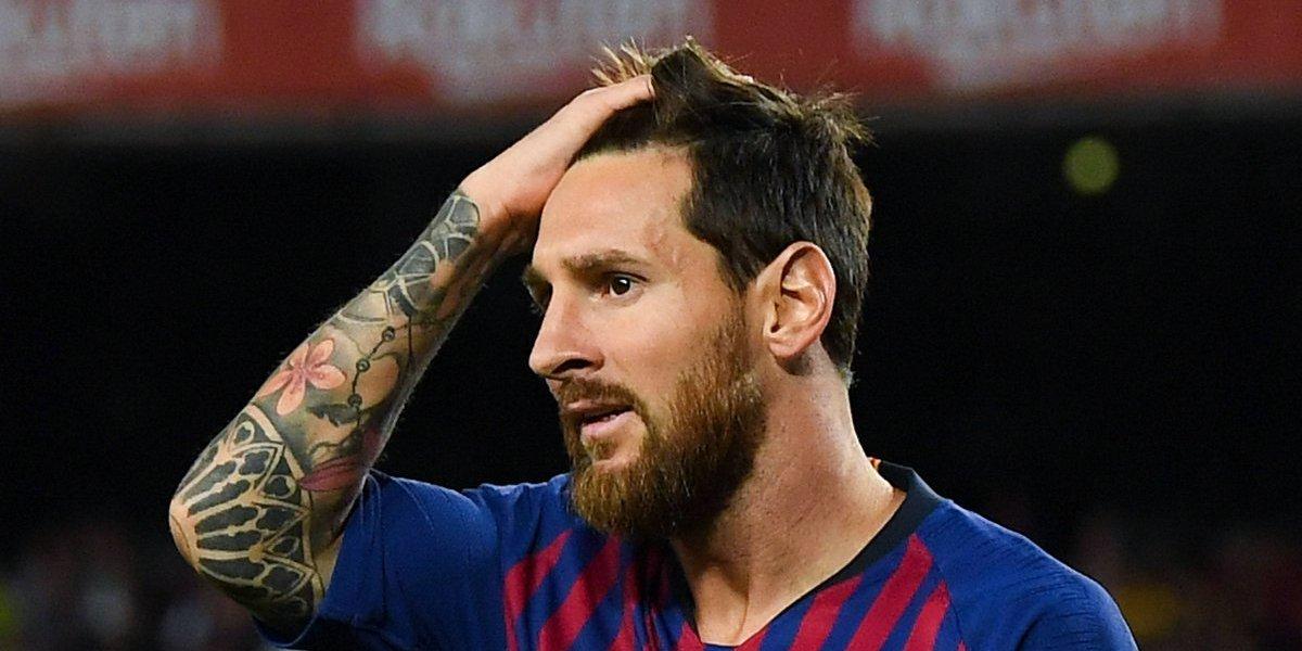 Revelan fotografía nunca antes vista de Lionel Messi
