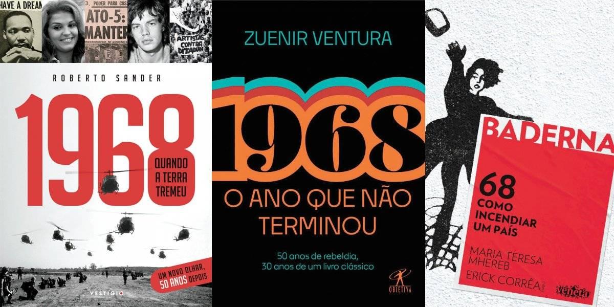 livros 1968