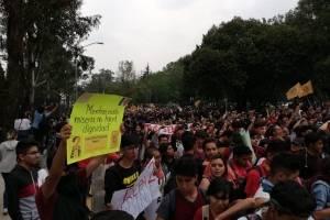 Marcha alumnos UNAM