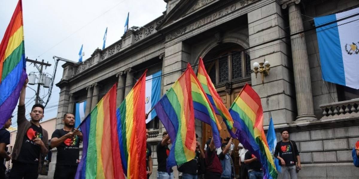"""EN IMÁGENES. """"Viva la diversidad"""" Manifestantes celebran """"freno"""" de iniciativa 5272"""