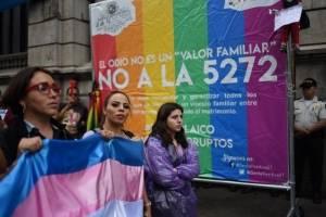 Manifestación contra iniciativa 5272