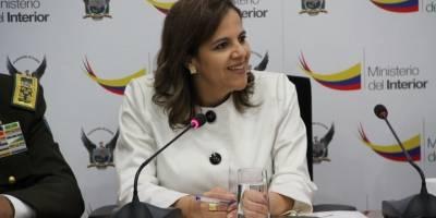 María Paula Romo, ministra del interior