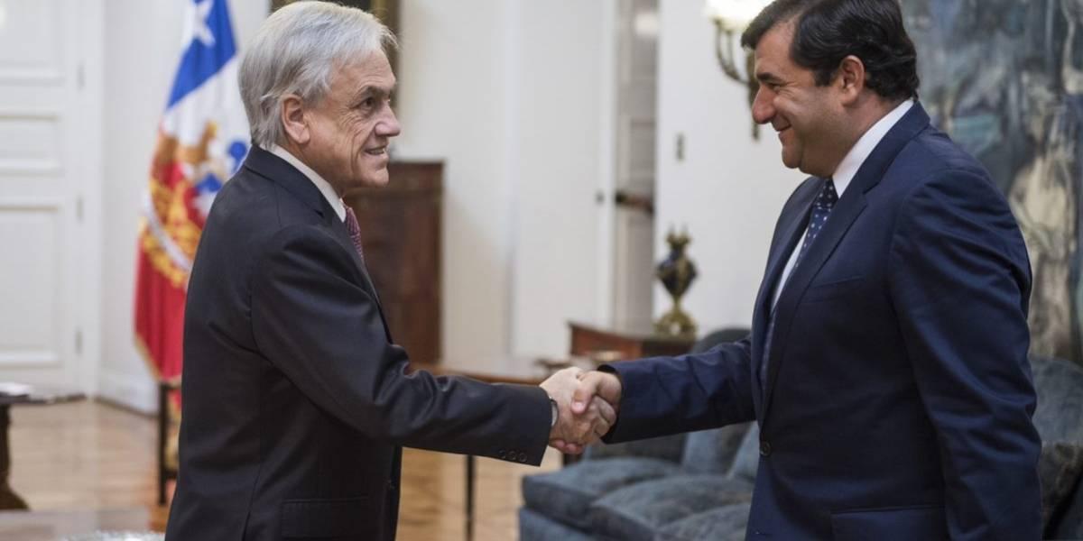 ¿De qué hablaron Microsoft y el Presidente Piñera en La Moneda?