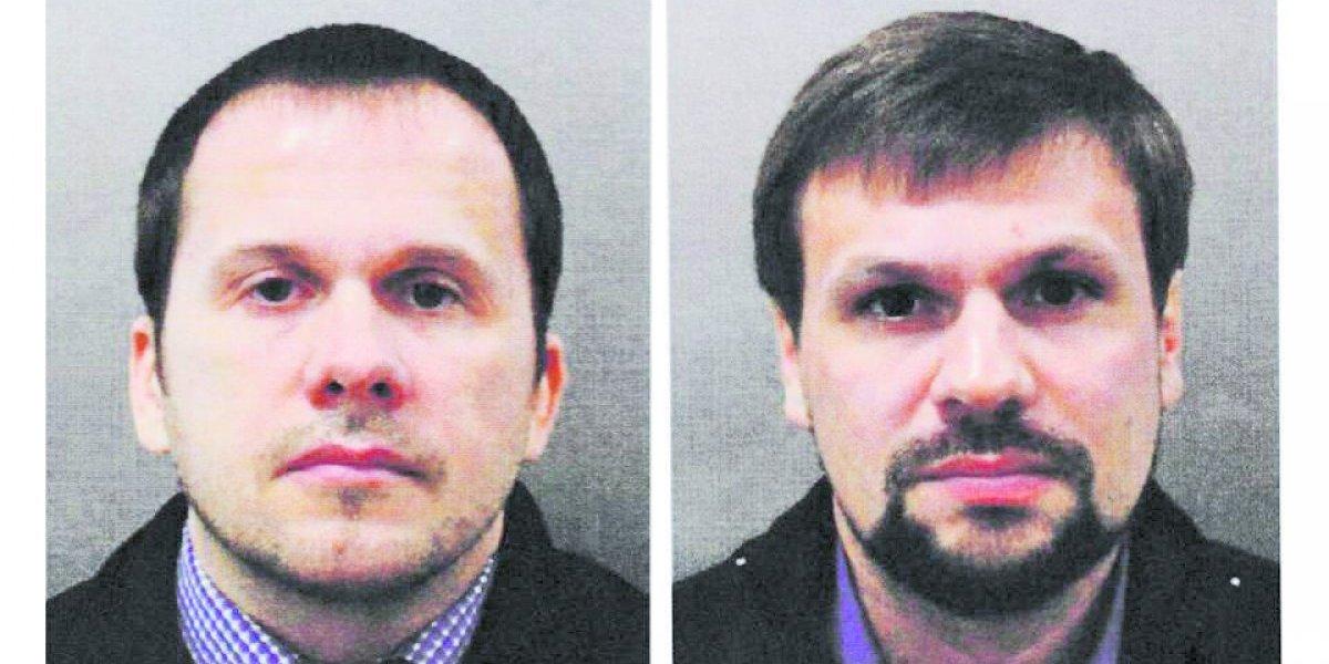 Londres apunta al Kremlin:  estos dos espías rusos son acusados del ataque con Novichok