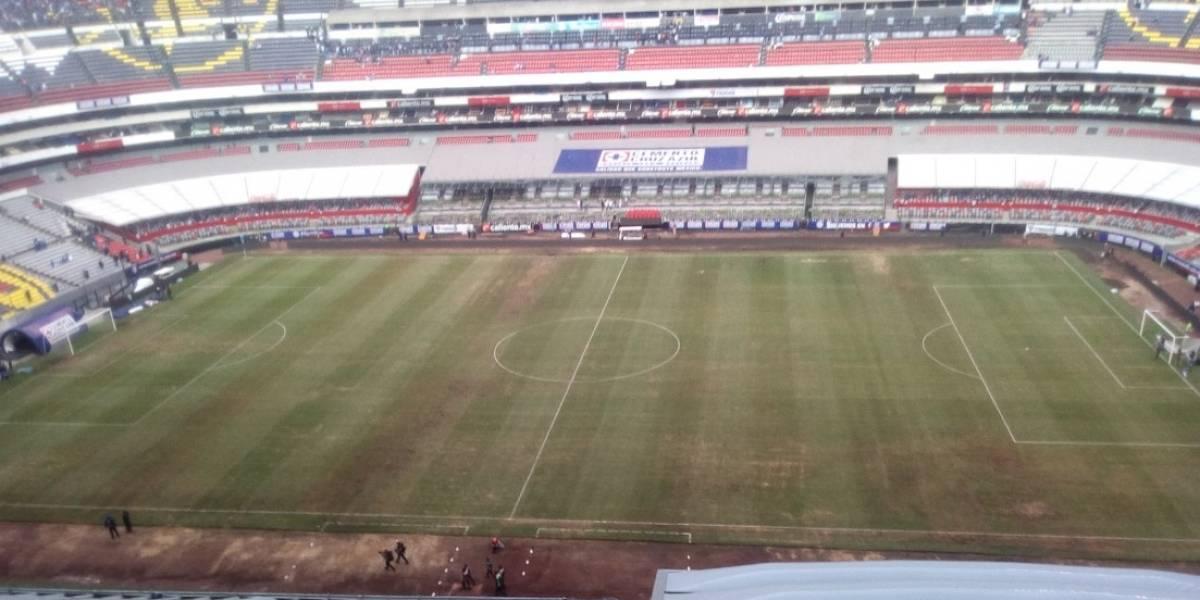 NFL despreocupada por condiciones de la cancha del Estadio Azteca