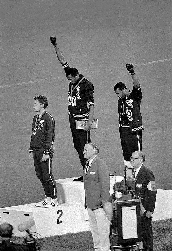 Os Jogos Olímpicos em 1968 foram de grande importância para o movimento negro Flickr