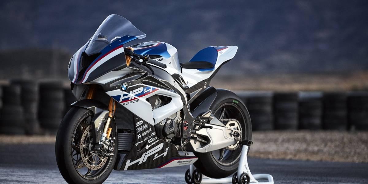 BMW Motorrad estrena su joya de la corona: la HP4 Race