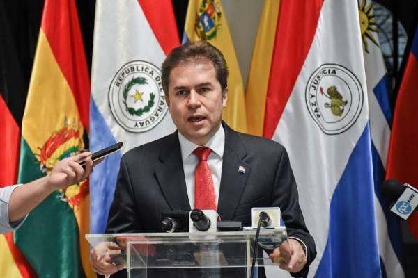 Luis Alberto Castiglioni, canciller de Paraguay