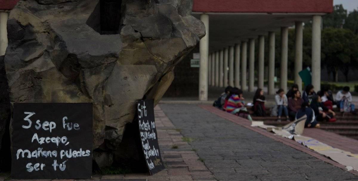 Este miércoles más de 30 facultades y escuelas de la UNAM se encuentran sin clases. Foto: Cuartoscuro