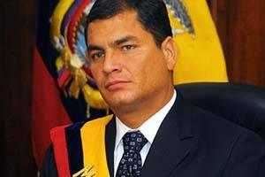 El cambio de Rafael Correa a través de los años